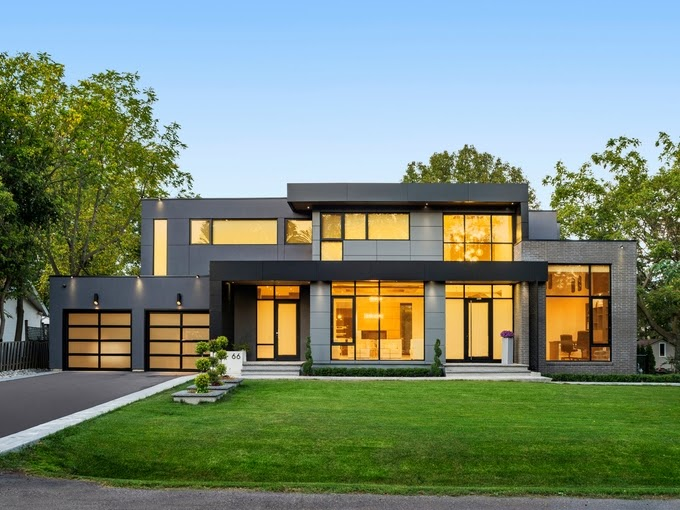 Modern Home for filming in Toronto